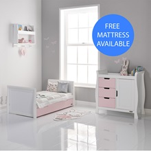 White-and-Pink-Eton-Mess-Toddler-Bed-and-Changing-Unit-with-Mattress.jpg