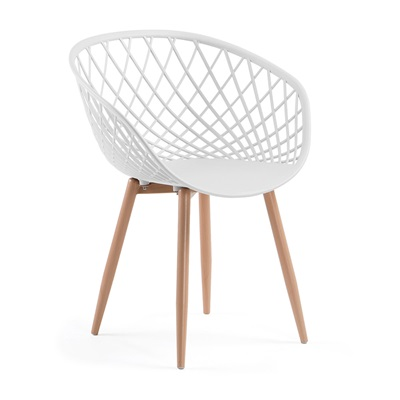 ZAYNA ARMCHAIR in White