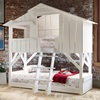 Kids White Treehouse Bunkbed