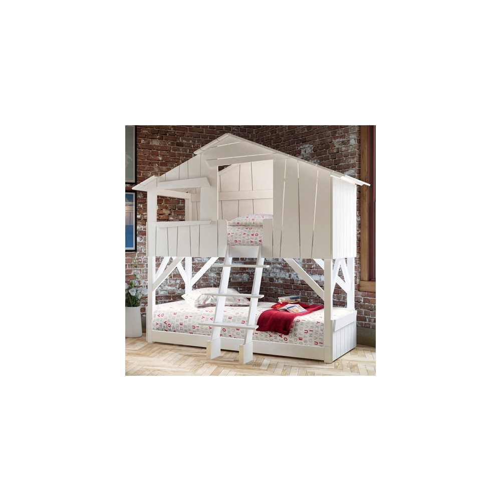 97 house bunk beds for sale rustic wood house kids twin for White bunk beds for sale