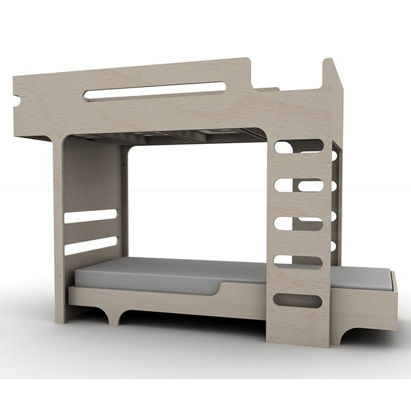 Bunk Bed in Light Wood