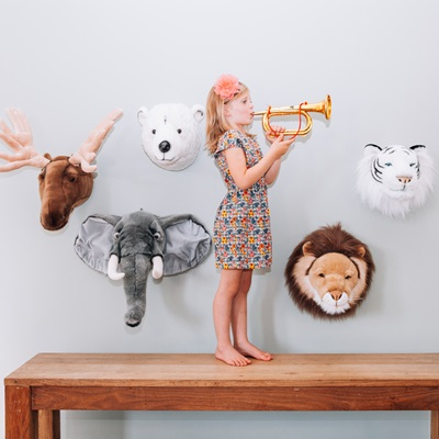 Animal Head Wall Decor animal head wall decor   decorating ideas