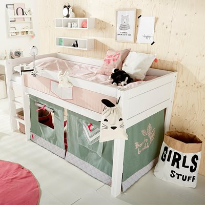 LIFETIME WILD CHILD KIDS MID-SLEEPER BED