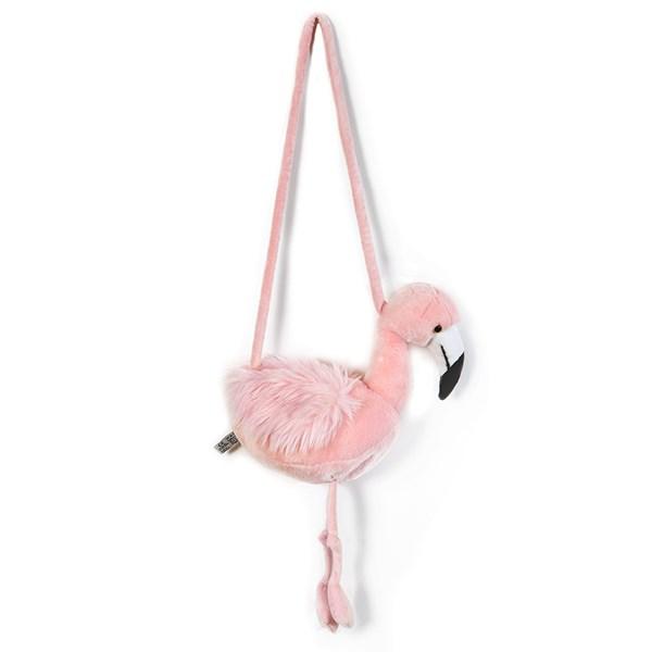 Kids Plush Flamingo Animal Purse