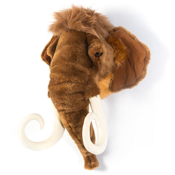 Arthur the Mammoth Kids Plush Animal Head Wall Decor