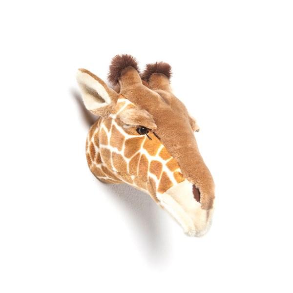 Ruby the Giraffe Kids Plush Animal Head Wall Decor