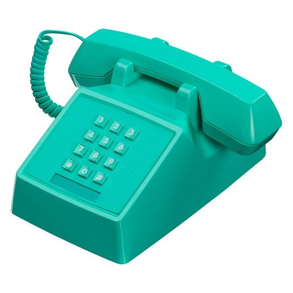 Retro 2500 Telephone in Miami Turqouise