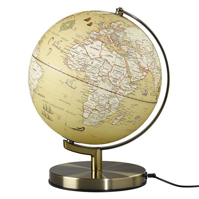 "Wild & Wolf Light Up 10"" Globe in Vintage"