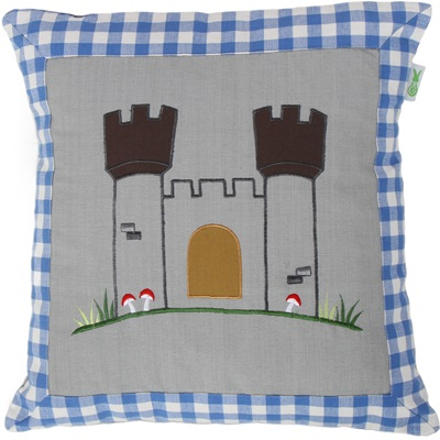KNIGHT'S CASTLE Cushion Cover by Win Green