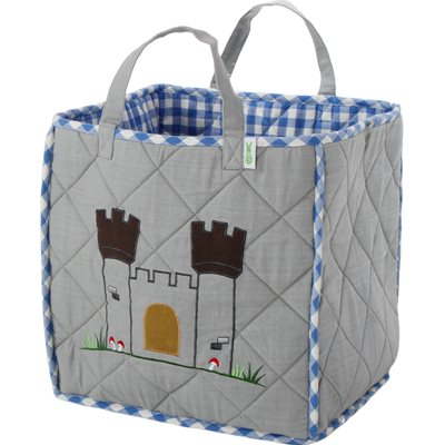 KNIGHTS CASTLE Padded Toy Bag by Win Green