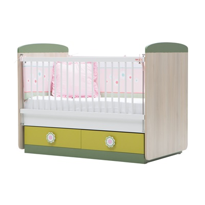 COT BED in Wingy Design