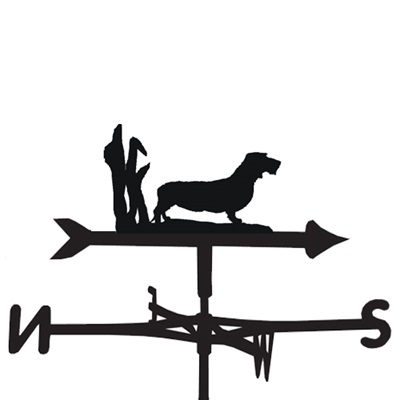 WEATHERVANE in Wire Haired Dachshund Design