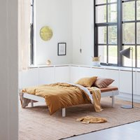 Oliver Furniture Oliver Furniture Wood Small Double Lounger Bed - White