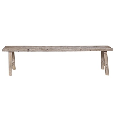 WOODEN DINING & HALL BENCH in Rustic Design