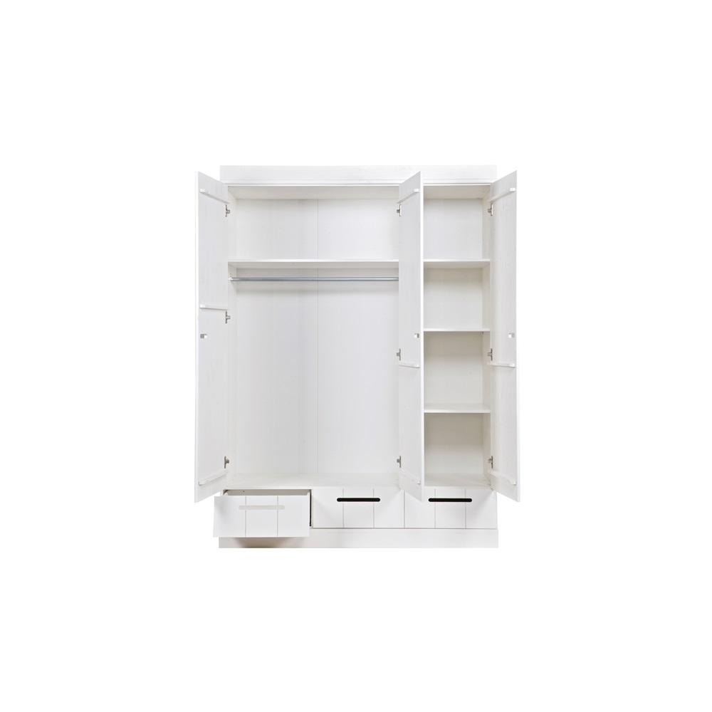 Connect Contemporary 3 Door Cupboard Cabinet With Storage Kids Desks