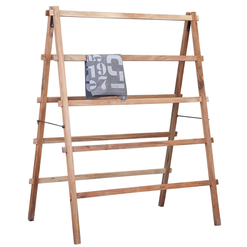 clothes ceiling products mounted laundry rack drying line wooden hanging