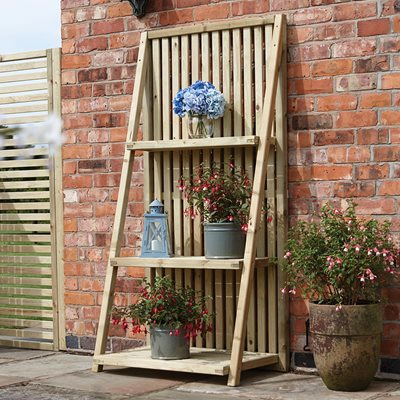 ROWLINSON WOODEN PLANT STAND