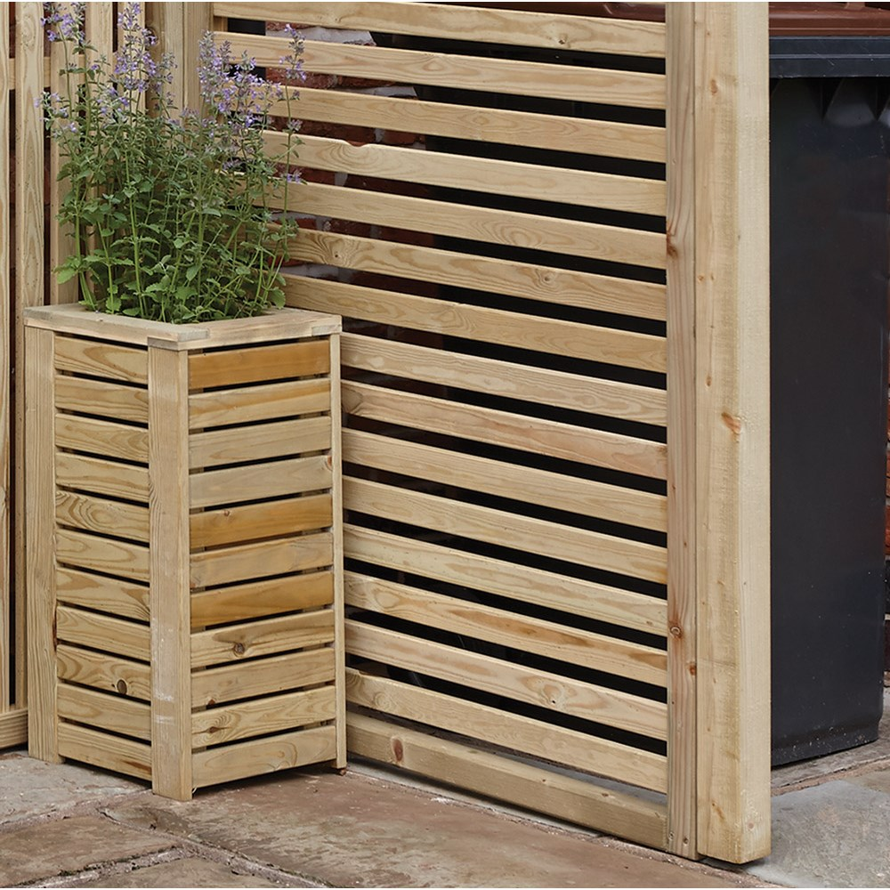 Rowlinson Horizontal Slat Garden Screens - Rowlinson Garden Products ...