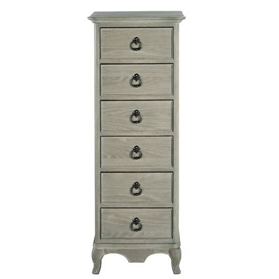 WILLIS & GAMBIER CAMILLE TALL CHEST OF 6 DRAWERS