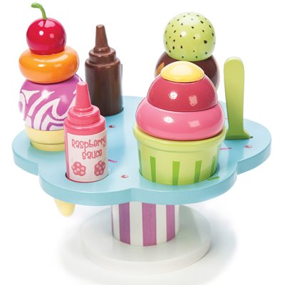 LE TOY VAN HONEYBAKE CARLOS GELATO ICE CREAM SET