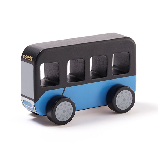 Children's Wooden City Bus Toy Car