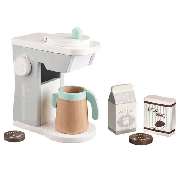 Kids Wooden Toy Coffee Maker