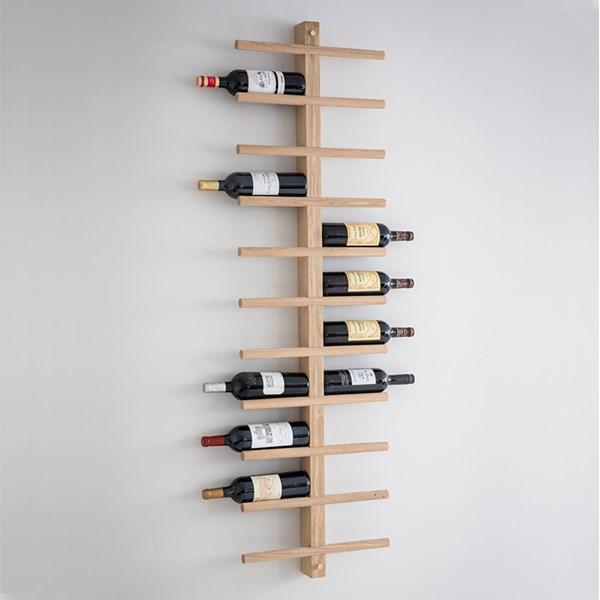Garden Trading Woodstock Wall Mounted Wine Rack