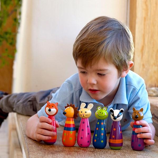 Unique Wooden British Kids Toys