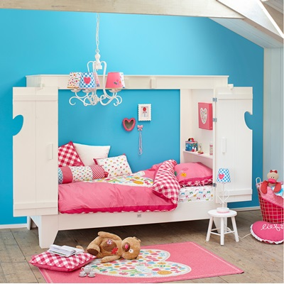 Kids Cupboard Style Cabin Bed Amp Folding Doors Cuckooland