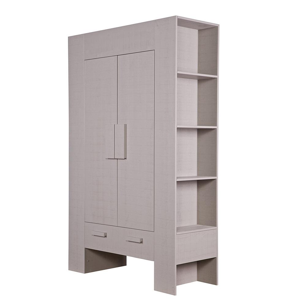 hidde cabinet in taupe cabinets drawers bookshelves. Black Bedroom Furniture Sets. Home Design Ideas