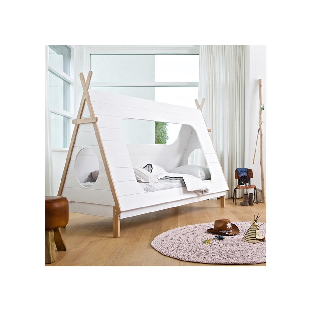 newest 38429 902da Kids Teepee Cabin Bed by Woood