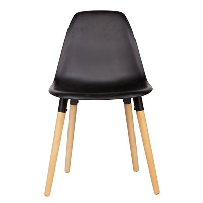 SET OF 2 ROEF CHAIRS in Black