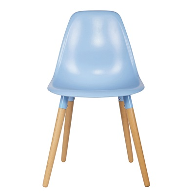 SET OF 2 ROEF CHAIRS in Serenity Blue