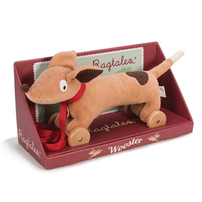 RAGTALES WOOSTER THE DACHSHUND PULL ALONG TOY
