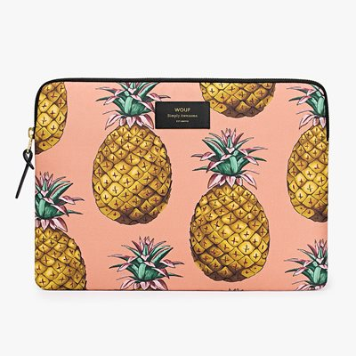 WOUF ANANAS PINEAPPLE LAPTOP SLEEVE 13""