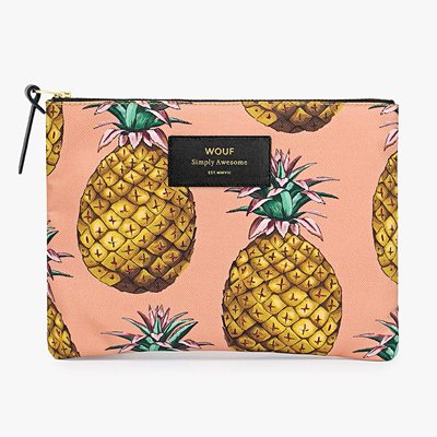 Wouf Ananas Pineapple Large Pouch