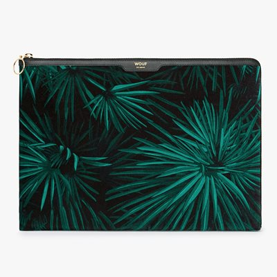 WOUF AMAZON VELVET LAPTOP SLEEVE 13""
