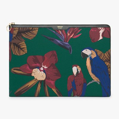 WOUF TROPICAL NIGHT LAPTOP SLEEVE 13""