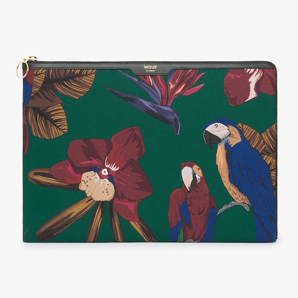 Wouf Tropical Night Laptop Sleeve 13 Inch