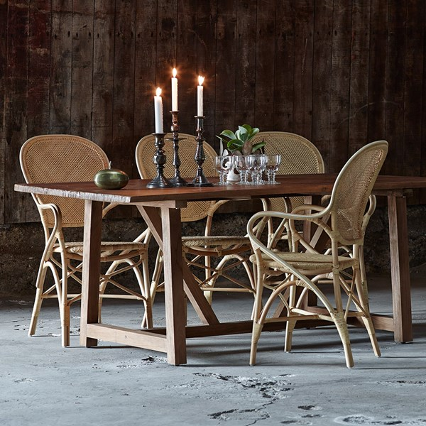 Sika Stackable Rattan Rossini Dining Chair