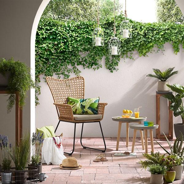 Stylish Outdoor Rattan Chair