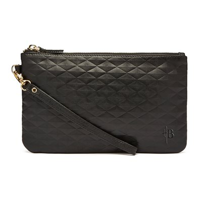 MIGHTY PURSE WRISTLET BAG in Diamond Black