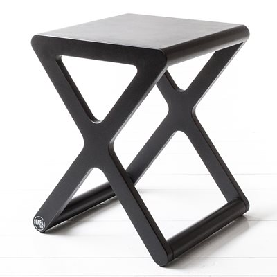 X DESIGNER KIDS STOOL in Black Wood