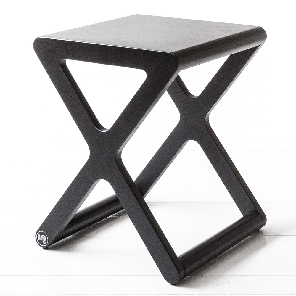 Amazing X Designer Kids Stool In Black Wood Inzonedesignstudio Interior Chair Design Inzonedesignstudiocom