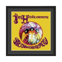 JIMI HENDRIX FRAMED ALBUM WALL ART in Are You Experienced Print  Large