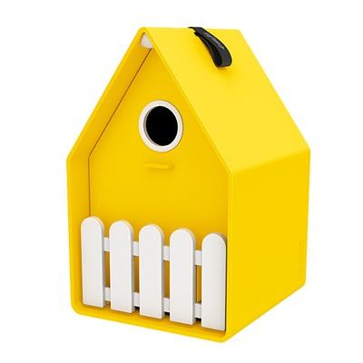 LANDHAUS ORIGINAL BIRD HOUSE in Yellow