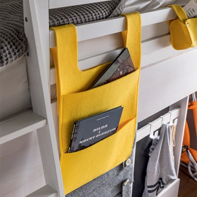 NEST CABIN BED HANGING STORAGE in Yellow