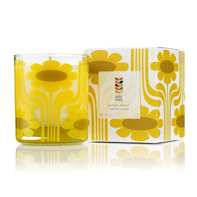 ORLA KIELY Scented Candle in Sicilian Lemon