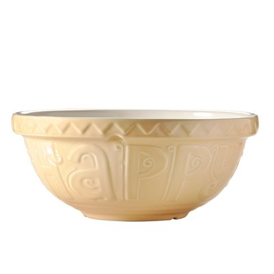 MASON CASH 'BAKE MY DAY' MIXING BOWL in Yellow