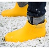 Nordic Grip Ankle Boots in Saffron Yellow